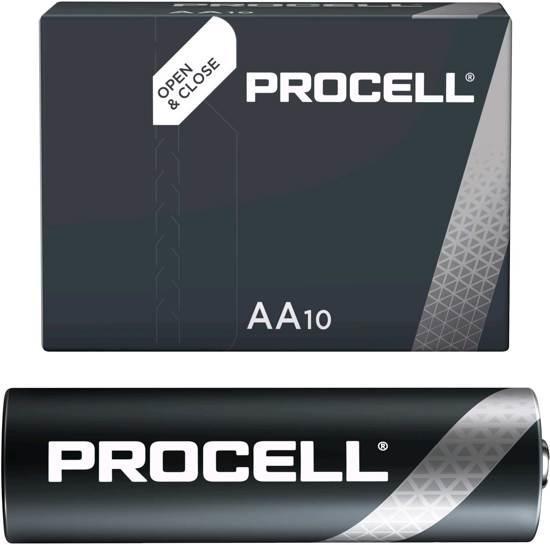 Duracell batterijen AA 1,5 volt 10 stuks   Greenbasic.nl