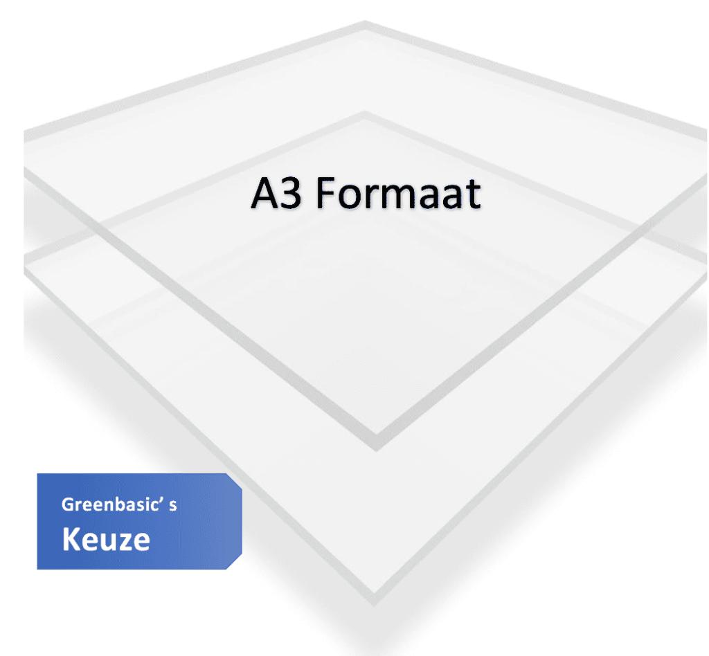 Plexiglas A3 | fullscreen
